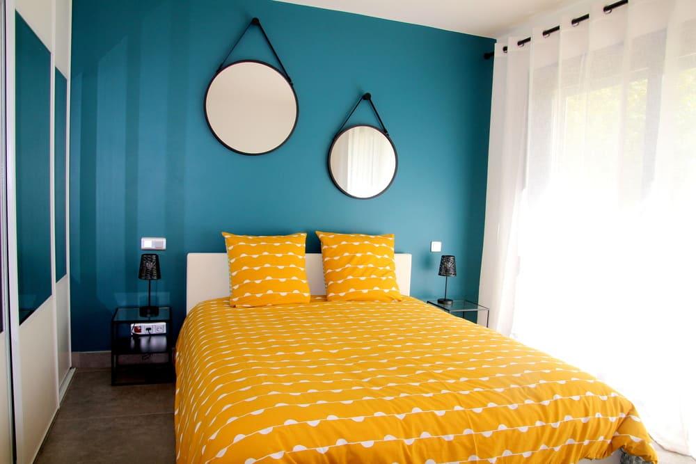 location maison de vacances avec piscine Montpellier proche Pic St loup chambre scarabée Prades le lez