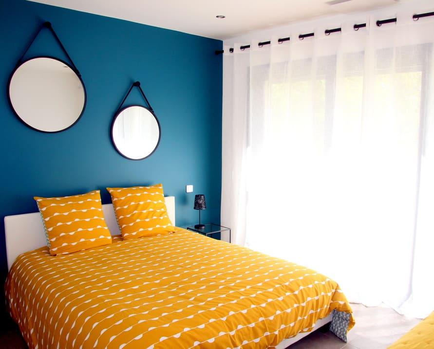 chambre scarabée location saisonnière villa de standing Prades le lez près Montpellier
