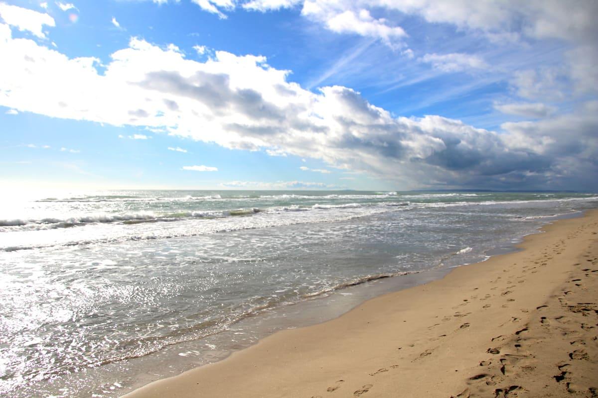 la mer les plages de l'Espiguette location saisonnière maison vacances moderne Prades le lez