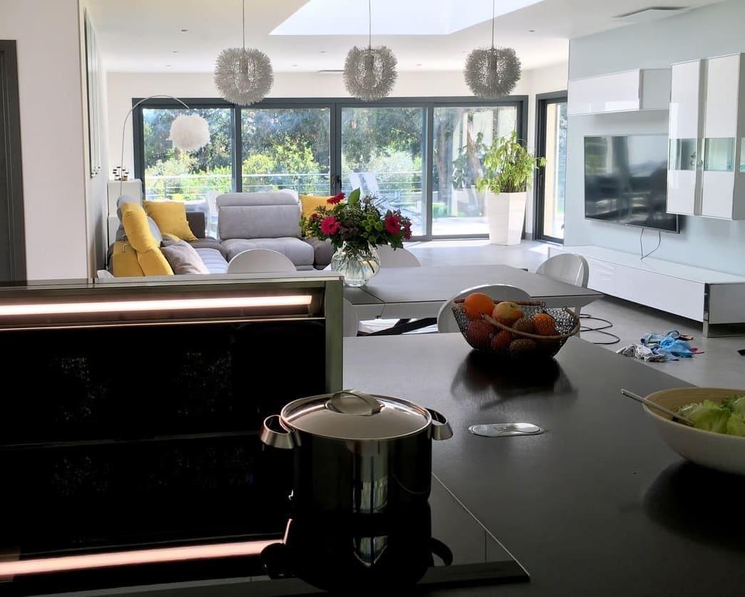 location saisonnière villa Montpellier cuisine aménagée tout confort midi-soleil