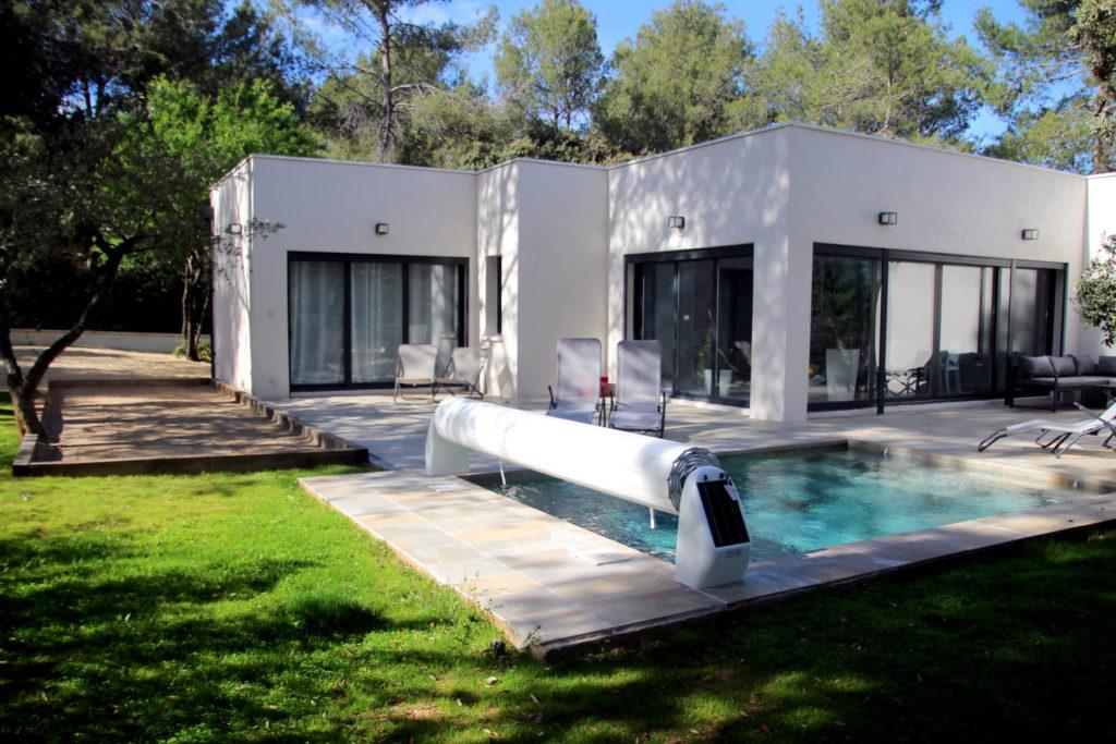 location saisonnière maison vacances Prades le lez Montpellier piscine terrasse proche Pic St loup